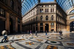 Naples - Galleria Umberto
