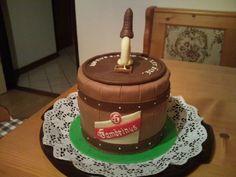 dort - soudek Gambrinus / cake - keg Gambrinus