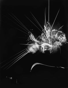 The photographer Gjon Mili was hailed for his work illustrating entire sequences of human movement in a single image. Gjon Mili, Light Painting, Slow Shutter Speed, Blues Music, Pop Music, Reggae Music, Conductors, The New Yorker, Single Image