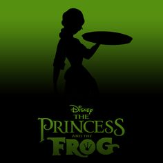 The Princess and the Frog [Ron Clements & John Musker, 2009] «20 Minimalist Disney Covers Author: Draik Jack»