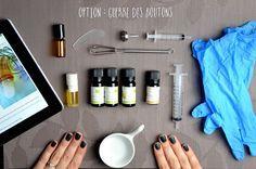 """Recette maison du roll on """"anti spots"""" à base d'huiles essentielles bio pour éradiquer les boutons !"""