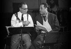 Benny Goodman and Duke Ellington
