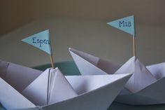 DIY Papirbåt- bordkort – Creative Fun 4 You Container, Creative, Fun, Hilarious