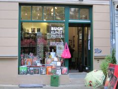 Georg Büchner Buchladen am Kollwitzplatz- Prenzlauer Berg  Berlin  12/07/2012