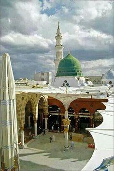 Gombad e Hazra (Saheb e salatu salam) Madina Monawara (saudia arab)
