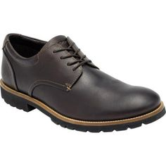 1b3c181f83a4 Men s Rockport Sharp  amp  Ready Colben Chocolate Brown Leather (US Men s  10 M (