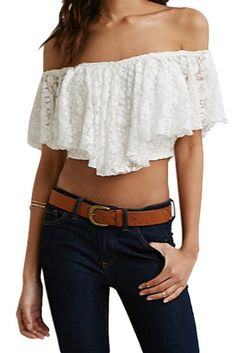 Off shoulder #croptop