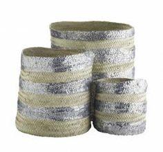 Tine K Home / Úložný koš Morocco silver Crystal Reed, Storage Sets, Moroccan Design, Silver Sequin, Metallic, Interior Accessories, Interior Inspiration, Home Goods, Ebay