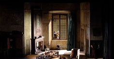 La Cenerentola. Glyn - La Cenerentola. Glyndebourne Festival. Scenic design by Hildegard Bechtler. 2005 --- #Theaterkompass #Theater #Theatre #Schauspiel #Tanztheater #Ballett #Oper #Musiktheater #Bühnenbau #Bühnenbild #Scénographie #Bühne #Stage #Set