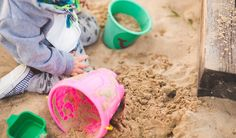 What to do with old sandbox sand?