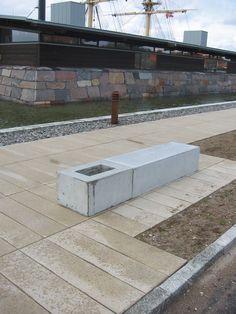 Specialelementer i beton Ene, Plads, Aarhus, Sidewalk, Patio, Side Walkway, Walkway, Walkways, Pavement