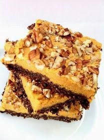 Gluten-Free Pumpkin Pecan Brownies
