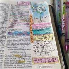 Journaling Bibles - Love this idea!  Christianbook.com