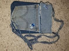 Blue Denim Crossover Handbag *** Details can be found by clicking on the image.-It is an affiliate link to Amazon.