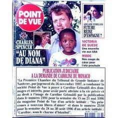 Point De Vue N° 2586 Du 11/02/1998 - Charles Spencer - Au Nom De Diana - Adelaide D'orleans - Future Reine D'espagne ? - Victoria De Suede - Publication Judiciare A La Demande De Caroline De Monaco.