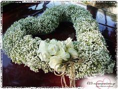 ΣΤΟΛΙΣΜΟΣ ΓΑΜΟΥ ΜΕ ΓΥΨΟΦΙΛΗ - ΑΓ. ΜΑΡΙΝΑ ΛΙΤΟΧΩΡΟ - ΚΩΔ:LIT-1107 Burlap Wreath, Floral Wreath, Wreaths, Weddings, Decor, Floral Crown, Decoration, Door Wreaths, Wedding