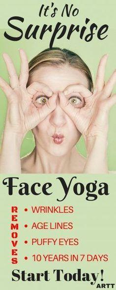 It's No Surprise - Face Yoga #Massage