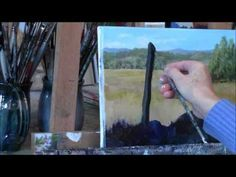 """Summer Daisies Country Acrylic Landscape Painting Demo """"Summer Daydream"""" Part 1 - YouTube"""