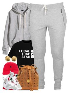 """Untitled #1465"" by power-beauty ❤ liked on Polyvore featuring H&M, Polo Ralph Lauren, MCM, Retrò and Chanel"