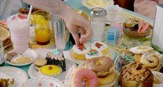 tumblr Cute Food, Good Food, Drink Me, Food And Drink, Groundhog Day, Retro Recipes, Tumblr, Milkshake, Doughnuts
