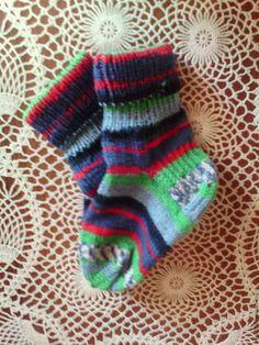 Купить Носочки детские вязаные - комбинированный, носочки детские, для детей, теплые носочки, носочки вязаные