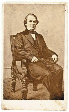 CDV Photograph of Vice President Andrew Johnson