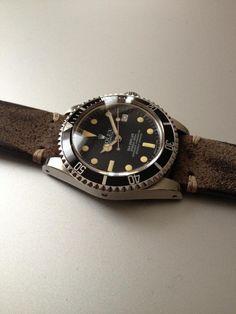 Rolex Sea-Dweller Leather Strap
