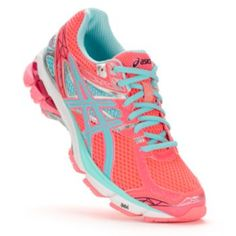 ASICS GT-1000 3 Women's Running Shoes Color : Pink Ice Blue , Size : 6 US$80