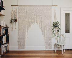 Melbourne Macrame Wedding Arch Hire, Macrame Workshops, The Middle Aisle, Maggie May Macrame Wedding Wall, Diy Wedding, Surf Wedding, Arch Wedding, Wedding Backdrops, Magical Wedding, Backdrops For Sale, Wedding Shower Decorations, Macrame Curtain