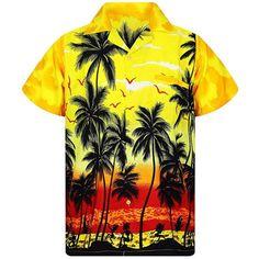 New Male Hawaiian Fashion Shirts Fashion Men's Casual Button Hawaii Print Beach Short Sleeve Hawaiian Men, Hawaiian Fashion, Beach Shirts, Summer Shirts, Sexy T Shirt, Man Shirt, Polo Shirt, Casual Button Down Shirts, Casual Shirts