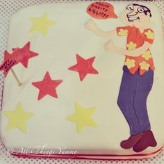 "Happy there's a #familyguy?? #Quagmire #cake for my favorite person!! ""#giggity giggity giggity""#atyummy #fondant"