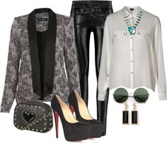 """I like this blazer :)"" by feathersandroses ❤ liked on Polyvore"