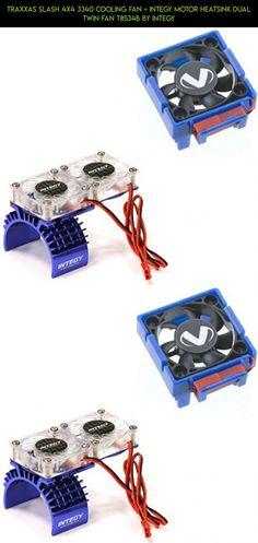 Traxxas Slash 4x4 3340 Cooling Fan + Integy Motor HeatSink Dual Twin Fan T8534B by Integy #plans #parts #gadgets #traxxas #technology #fan #products #tech #fpv #kit #camera #drone #shopping #racing
