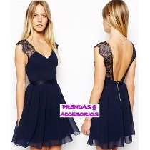 vestidos largos en chifon con espalda descubierta - Buscar con Google Bridesmaid Dresses, Prom Dresses, Formal Dresses, Summer Outfits, Clothes, Black, Cocktail, Google, Ideas
