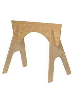These knock-down sawhorses are easy to assemble, transport and then store away when not in use. No need to buy two sawhorses separately, these come two sawhorses to a kit. Just slide the cross piece into the slotted legs with no need for glue of fasteners. This is among The Home Depot's top-pinned products.