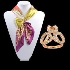 2014 New Gold/Silver Scarf Slide Tube Crystal trio ring Scarf Buckle scarf jewelry accessories Scarf Ring For Women Jewelry Sets, Jewelry Stores, Jewelry Accessories, Women Jewelry, Jewelry Watches, Scarf Rings, Scarf Jewelry, Women's Brooches, Flower Fashion