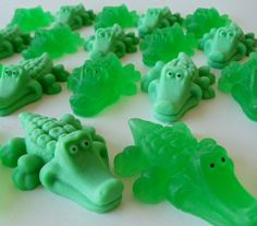 25 Alligator Party Favors Soap. $30.00, via Etsy.
