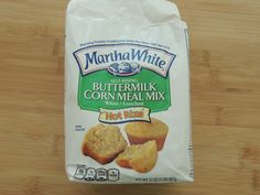 2 ingredient hot water cornbread Add baking powder to corn meal if not self rising- I teaspoon of baking powder per cup of meal 5 Ingredient Recipes, Ww Recipes, Mexican Food Recipes, Snack Recipes, Cooking Recipes, Mexican Meals, Snacks, Martha White Cornbread Recipe, Hot Water Cornbread Recipe