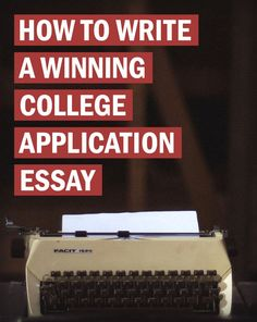 How to Write a Winning College Application Essay Online College, College Fun, Education College, Online Jobs, College Tips, College Planning, College Counseling, Education Degree, College Crafts