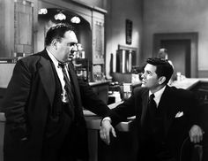 Thomas Gomez and John Garfield in Force of Evil - Abraham Polonsky (1948)