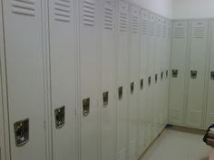 When buying Lockers, Order them with Antimicriobial Finish that Inhibits Bacterial, Mold and Flu. Metal Lockers, Industrial Storage, Steel Locker, 300 East, Locker Storage, Locker Ideas, Nyc, Staten Island