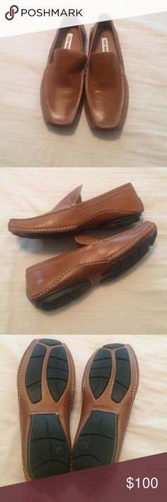 Men's Brown Loafers Only worn a few times. Perfect condition! Steve Madden Shoes Loafers & Slip-Ons