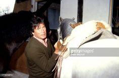 Nachrichtenfoto : Pierre Brice mit Pferden , Homestory, Landhaus,...