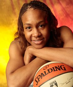 Tamika Catchings - Indiana Fever Forward.  Part of the 2012 Olympic women's basketball team.  Love her!