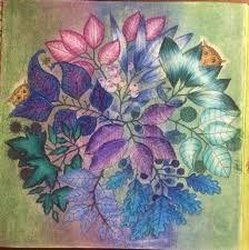 Image Result For Coloured Owls Tangled Garden Johanna Basford Secret GardenMedium ArtColored PencilsColoring BooksAdult
