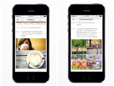Heyday app automatically chronicles all the photos in your phone to create a beautiful and customizable digital journal. It does the remembering for you.