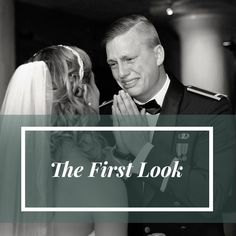 Bride and Groom First Look. A great explanation as to why to do a first look.