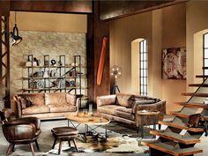 #Living  Tendinte 2015: 14 piese de mobilier in stilul industrial
