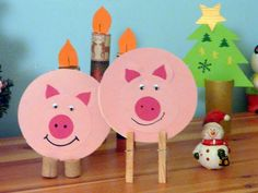 szerencsehozó - Google keresés Punch Art, Happy New Year, 3 D, Crafts For Kids, Techno, Christmas, Images, Children, Ideas