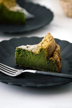 A Japanese twist on the classic French chocolate cake! Made with white chocolate and green tea, this Matcha Gateau au Chocolat is rich, moist, and intense with its deep colors and incredible flavor! #matcha #cake #baking | Easy Japanese Recipes at JustOneCookbook.com French Chocolate, White Chocolate, Chocolate Cake, Matcha Dessert, Matcha Cake, Green Tea Recipes, Sweet Recipes, Asian Recipes, Japanese Sweet